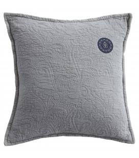 Floral quilt cushion
