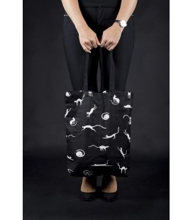 Cotton bag IDLE CATS