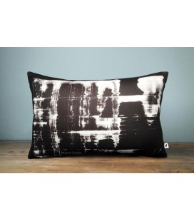 Black and white cushion, Kaaren (small)