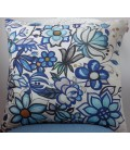 Cushion Ethno Blue