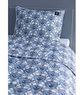 Satin bed linen Paisley