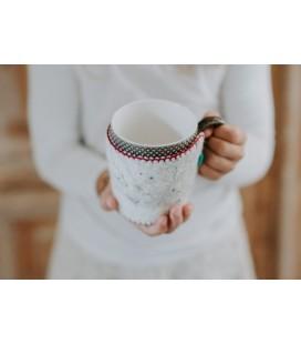 Kribel felted cup cozy