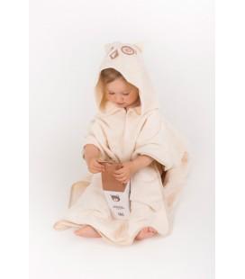 Poncho Towel Uhuu and Baby Shampoo Little Bear