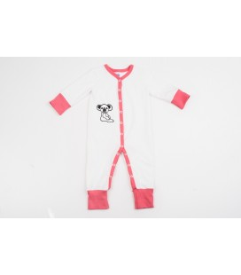 Jumpsuit The Little Koala with pink details