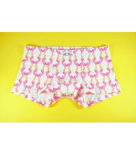 Mens underwear White Flamingo