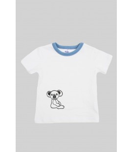 T-shirt TheLittleKoala with blue details