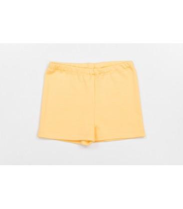 Kollased lühikesed püksid Krooks