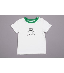 T-shirt Krooks with green details