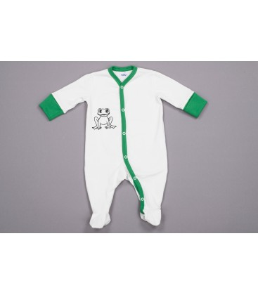 Jumpsuit Krooks valge-roheline