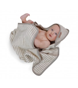 Linen baby towel HAPPY KIDS