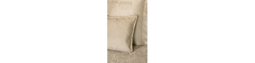 Bed spreads and cushion covers